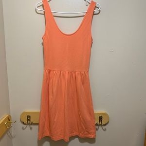 J. Crew Dress Coral Back Button Closure Size XS